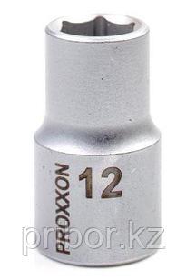 "23408 Proxxon Головка на 1/2"", 12мм"