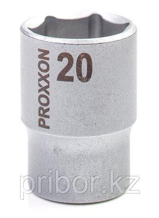 "23419 Proxxon Торцевая головка на 1/2"", 20 мм"