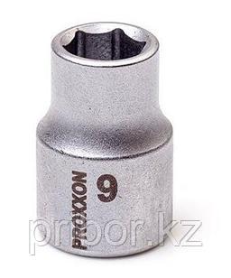 "23506 Proxxon Торцевая головка на 3/8"", 9 мм"