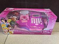 Детская интерактивная касса (Disney) с продуктами.