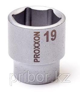 "23524 Proxxon Торцевая головка на 3/8"", 19 мм"