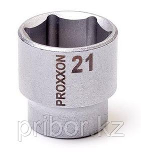 "23526 Proxxon Торцевая головка на 3/8"", 21 мм"