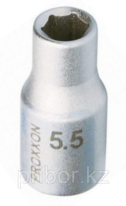"23713 Proxxon Торцевая головка на 1/4"", 5,5 мм"