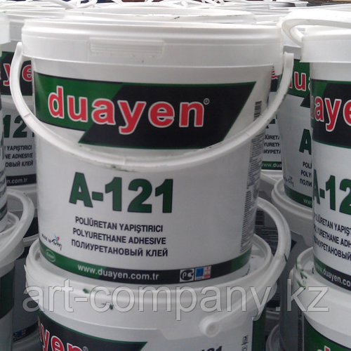 Клей полиуретановый для резиновой плитки и покрытий 23 кг, Турция.