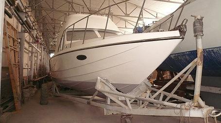 Ремонт, реставрация и восстановление днищ яхт и катеров