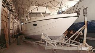 Ремонт, реставрация и восстановление днищ яхт и катеров 5