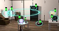 Комната для беспроводной зарядки устройств