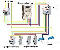 Электросчётчик АВВ, 31 412-200, для однофазных сетей