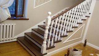 Реставрация и декорирование лестниц 15
