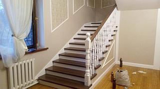 Реставрация и декорирование лестниц 16