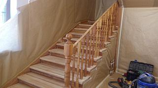 Реставрация и декорирование лестниц 18