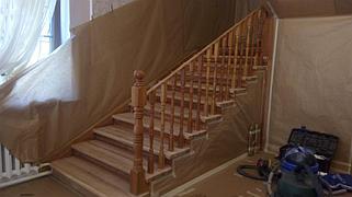 Реставрация и декорирование лестниц 20
