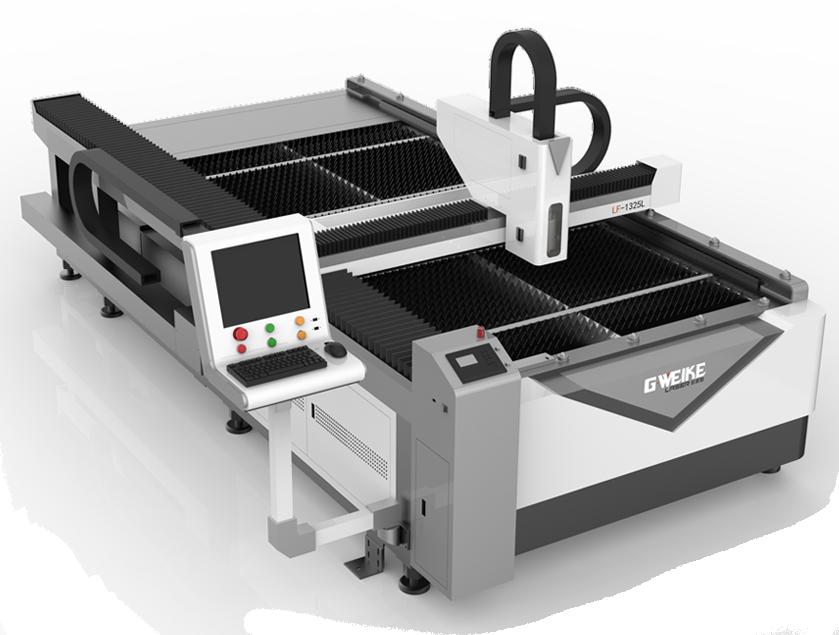 Оптоволоконный лазерный станок для резки металла в отрасли рекламы LF1325L