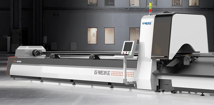 Оптоволоконные лазерные станки для специальной резки металлических трубLF60M