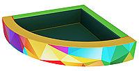 Сухой бассейн с УФ печатью Угловой