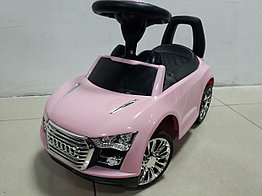 Толокар-машинка Audi для девочек. Рассрочка. Kaspi RED.