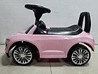 Толокар-машинка Audi для девочек. Рассрочка. Kaspi RED., фото 5