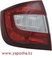 Задний фонарь Skoda Rapid 2014-темно-красный/левый/,Шкода Рапид,