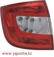 Задний фонарь Skoda Rapid 2014-красный/левый/,Шкода Рапид,