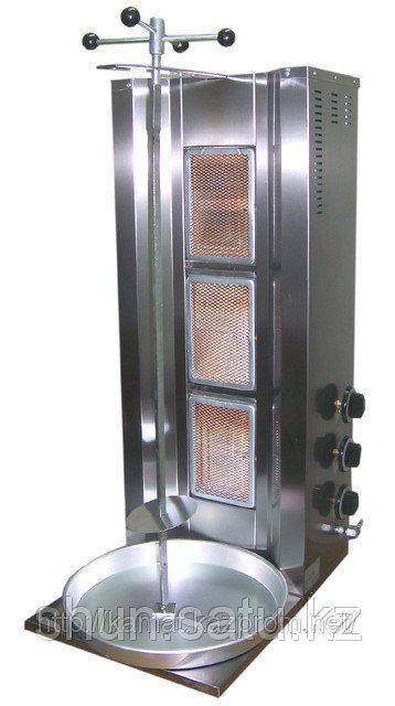 Аппарат для приготовления донера 3 горелки