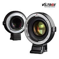 Адаптер Viltox EF-M2 ll для обьективов Canon EF/EF-S на байонет Panasonic EXIF с автофокусом
