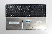 Клавиатура для ноутбука Lenovo Ideapad Y580 с подсветкой, RU