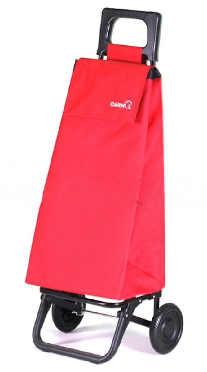 Сумка-тележка Garmol, Испания  шасси BASIC красная