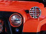 Электромобиль Jeep Wrangler FB-716 (пластик), хаки, фото 5
