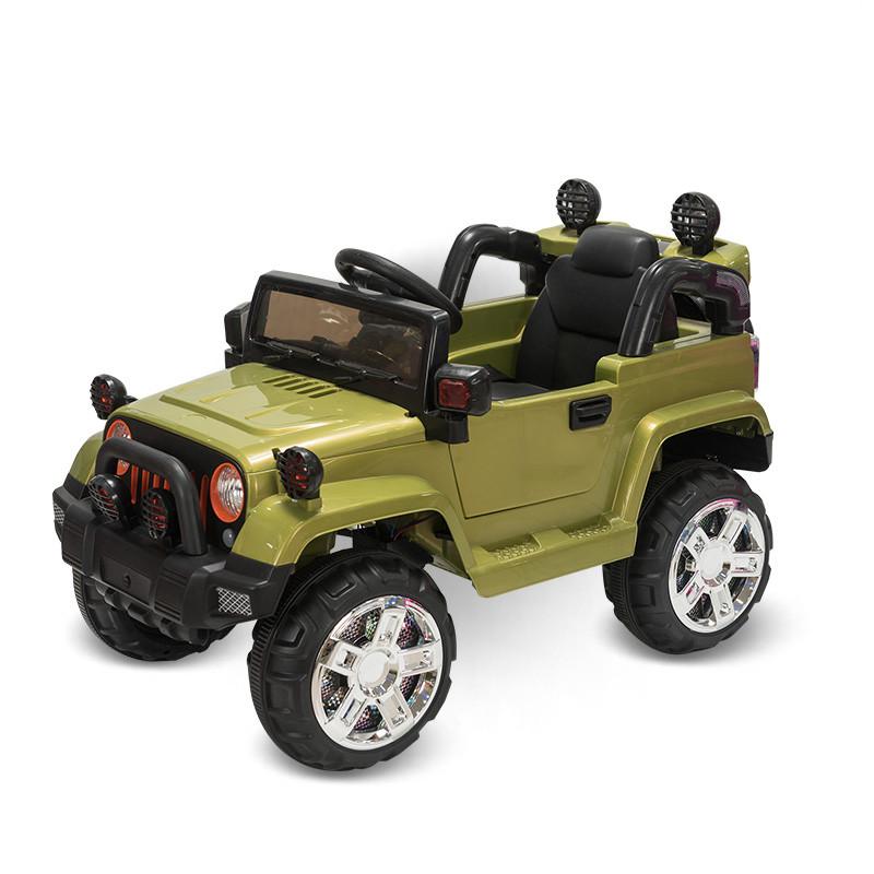 Электромобиль Jeep Wrangler FB-716 (пластик), хаки