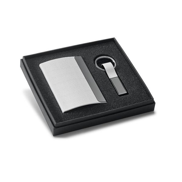 Набор визитница и брелок | для ключей