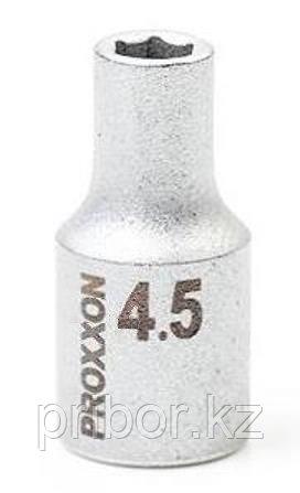 "23711 Proxxon Торцевая головка на 1/4"", 4,5 мм"