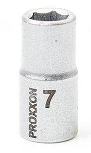 "23716 Proxxon Торцевая головка на 1/4"", 7 мм"