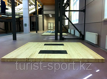 Тренировочный помост для гиревого спорта 2х2