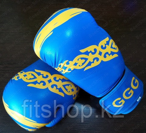 Перчатки для бокса и кикбоксинга  GGG  натуральная кожа