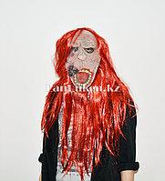 Латексная маска на хэллоуин чумная обезьяна 080