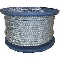 Трос оцинкованный для подвеса медного и оптического кабеля (5мм)
