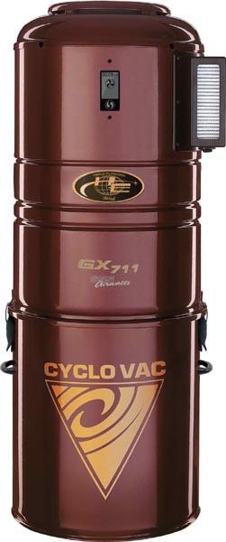 Агрегат центрального пылесоса Cyclovac HX715