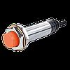 Индуктивный датчик М18 NPN НО, расстояние срабатывания 8мм