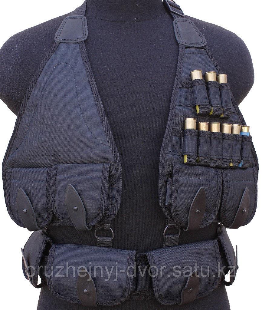 Патронташ ХСН на утку 49 патрона (черный)