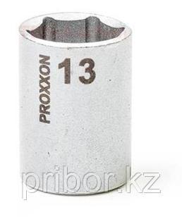 "23728 Proxxon Головка на 1/4"", 13 мм"
