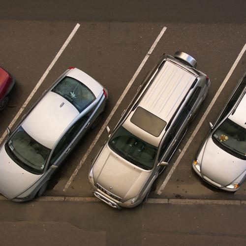 Установка видеонаблюдения на автопарковке