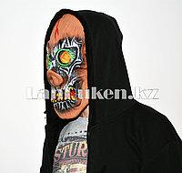 Латексная маска на хэллоуин злобный свин с 3D линзами в которых смерть