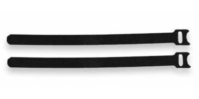 Хомут многократного использования Velcro®, 200мм, с мягкой застежкой, чёрные, 10шт.