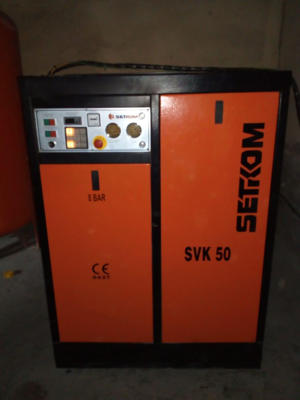 Продается мощный воздушный винтовой компрессор Setkom SVK-50 (6300 л/мин)