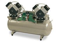 Безмасляный компрессор DK50 2Х2V/110, фото 1