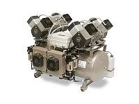 Безмасляный компрессор DK50 2Х4VR/110/M, фото 1