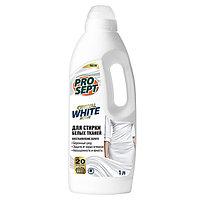Crystal WHITE Жидкое моющее средство для стирки белых и светлых тканей 1 л. (артикул 288-1)