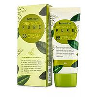 Farm Stay green tea seed pure anti wrinkle BB cream - Многофункциональный разглаживающий ББ-крем