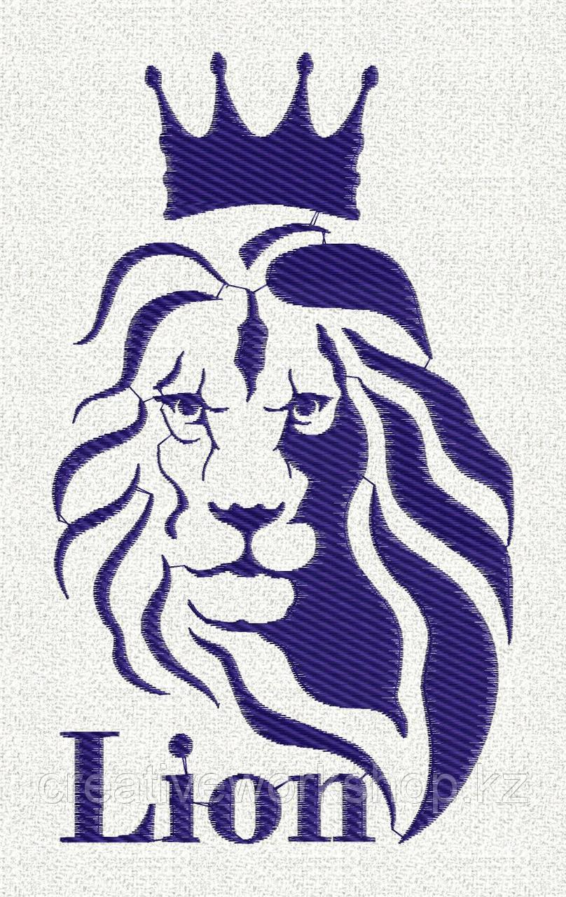 Lion2 . Дизайн машинной вышивки