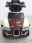 Толокар Bugatti с родительской ручкой, фото 5